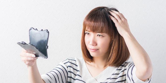 女性の髪の悩み